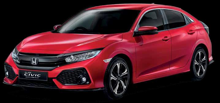 All New Honda Civic Hathback